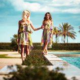Vestidos asimétricos con print animal de la colección primavera/verano 2014 de Adriana iglesias