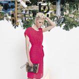 Vestido rosa fucsia de la colección primavera/verano 2014 de VAN-DOS