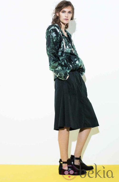 Conjunto chaqueta y falda de la colección primavera/verano 2014 de Closed