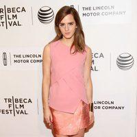 Emma Watson vestida de Narciso Rodriguez en el Festival de Tribeca 2014