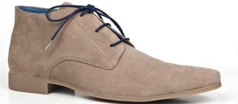 Zapato Safari de caballero color gris de la primavera/verano 2014 de Enzo Tesoti