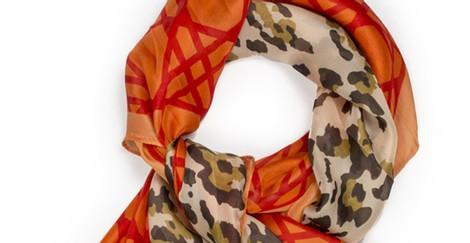 Pañuelo con estampado leopardo de la colección primavera/verano 2014 de Tantrend