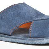 sandalia de caballero color azul de la primavera/verano 2014 de Enzo Tesoti