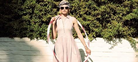 Vestido de vuelo de la colección primavera/verano 2014 de Levi's