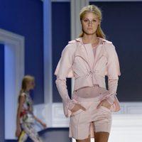 Shorts rosas de Vera Wang, colección primavera de 2012