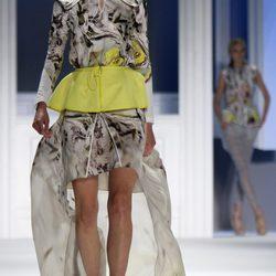 Desfile de Vera Wang, colección primavera de 2012