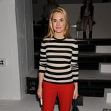 Amanda Hearst en la  Semana de la Moda, colecciones de primavera de 2012