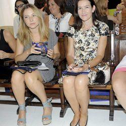 Invitadas al desfile prêt-à-porter de Josep Font, colección primavera 2012