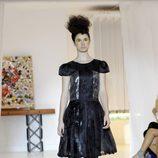 Vestido negro de Josep Font, colección primavera 2012