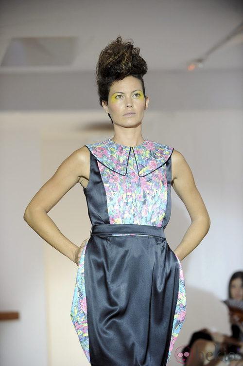 Vestido con bolsillos de Josep Font, colección primavera 2012