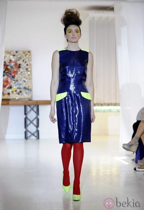 Metal y flúor de Josep Font, colección primavera 2012