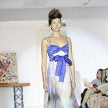 Vestido con lazo de Josep Font, colección primavera 2012