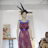 Vestido de corte griego de Josep Font, colección primavera 2012