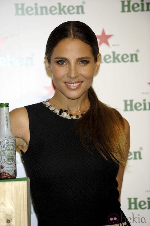 Elsa Pataky, madrina de Heineken en la pasarela Cibeles