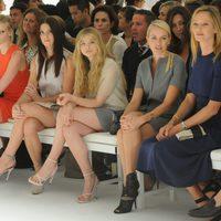 Front row de Calvin Klein, colección primavera de 2012