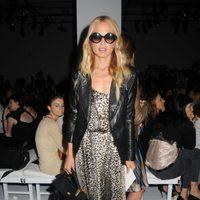 Rachel Zoe en el desfile de Calvin Klein, colección primavera de 2012