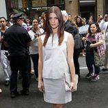 Ashley Greene en el desfile de Calvin Klein, colección primavera de 2012