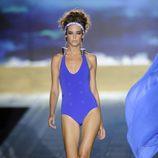Bañador azul de la colección primavera 2012 de Andrés Sardá
