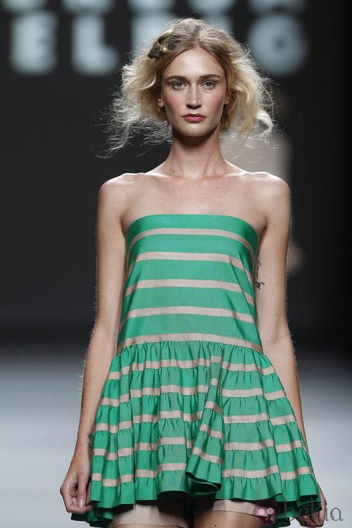 Top de rayas de Teresa Helbig, colección primavera de 2012