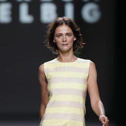 Vestido de corte recto de Teresa Helbig, colección primavera de 2012