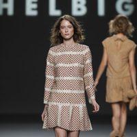 Abrigo de tela cruzada de Teresa Helbig, colección primavera de 2012