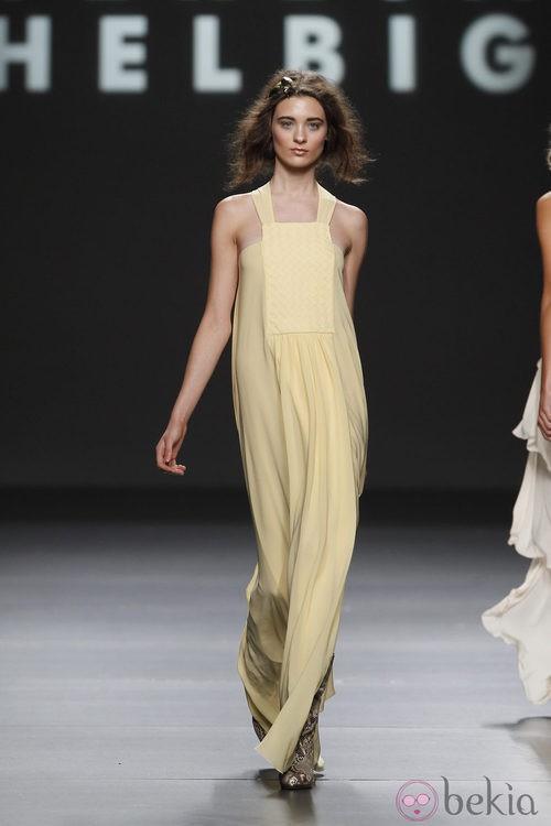Vestido vaporoso de Teresa Helbig, colección primavera de 2012