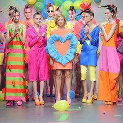 Desfile de Ágatha Ruiz de la Prada en Cibeles, colección primavera 2012