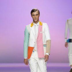 Americana multicolor de Davidelfín, colección primavera 2012