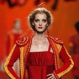 Modelo de inspiración torera de Montesinos, colección primavera 2012