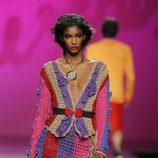 Chaqueta y falda en varios tonos de Montesinos, colección primavera 2012