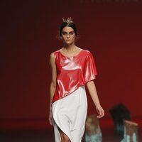 Vestido bicolor de Devota y Lomba, colección primavera 2012