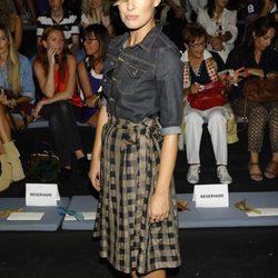 Famosos en la Cibeles Madrid Fashion Week, colecciones para primavera de 2012