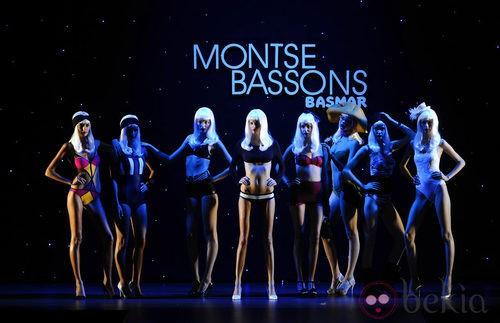Desfile de Montse Bassons en Cibeles para presentar la coleción primavera 2012