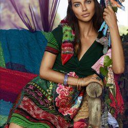 Adriana Lima presenta la colección para la temporada otoño/invierno 2014 de Desigual