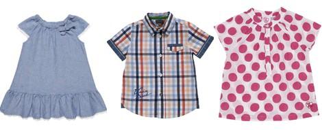 Blusa de topos de la colección primavera/verano 2014 de Chicco