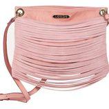 Bolso de antelina rosa de Loeds para verano 2014