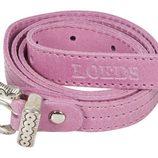 Cinturón rosa con aplicaciones metálicas de Loeds para verano 2014