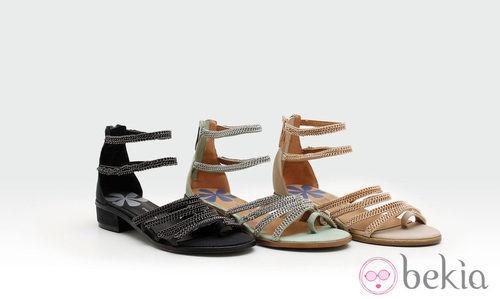 Sandalias con cadenas de la colección verano 2014 de Trendy Too