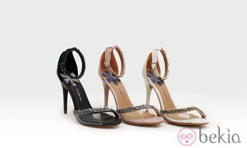 Stilettos con pedrería de la colección verano 2014 de Trendy Too