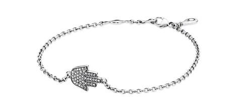 Brazalete con el símbolo Hamsa de la colección para otoño 2014 de Pandora