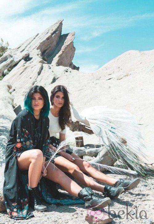 Kendall y Kylie Jenner presentan su colección otoño/invierno 2014 para PacSun