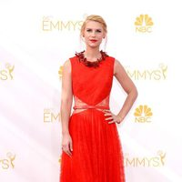 January Jones y Claire Danes, de rojo en los Premios Emmy 2014
