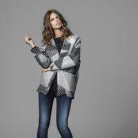Jeans pitillos y abrigo oversize de la colección otoño/invierno 2014/2015 de Salsa