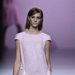 Vestido baby-doll de Devota & Lomba en Madrid Fashion Week primavera/verano 2015