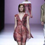 Vestido paisley de Devota & Lomba en Madrid Fashion Week primavera/verano 2015