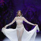 Transparencias en el desfile de Francis Montesinos en Madrid Fashion Week primavera/verano 2015