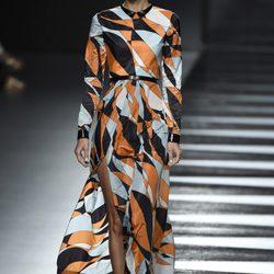Desfile de Juanjo Oliva en Madrid Fashion Week 2014 para primavera/verano 2015