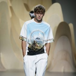 Sudadera 'Magic Mountain' de Ana Locking en Madrid Fashion Week primavera/verano 2015