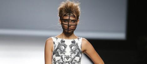 Vestido estampado de Maya Hansen en Madrid Fashion Week primavera/verano 2015
