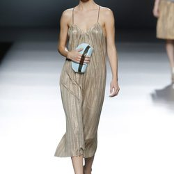 Desfile conjunto de Maya Hansen y Moisés Nieto en Madrid Fashion Week 2014 para primavera/verano 2015